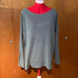 Piko oversized sheer sweater